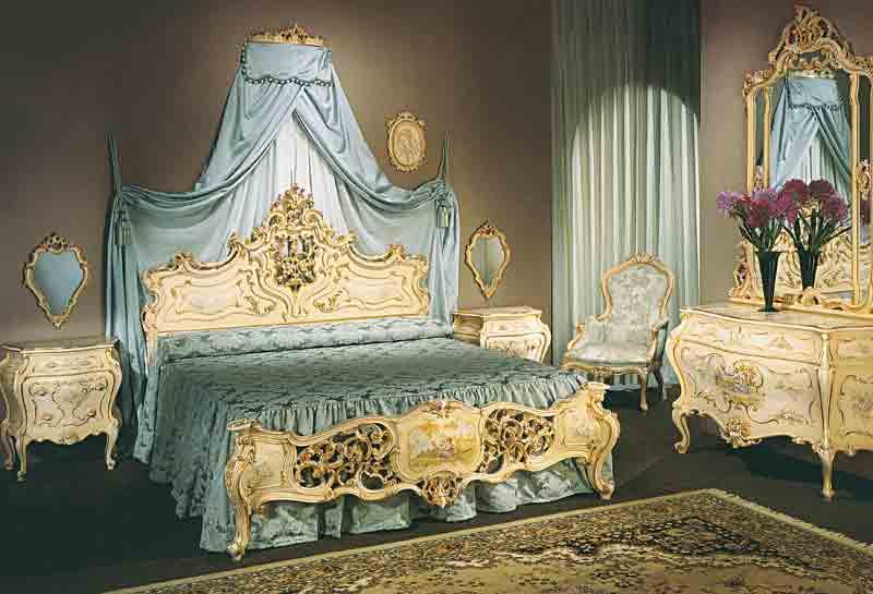 Fratelli origgi camera da letto - Camere da letto stile barocco ...